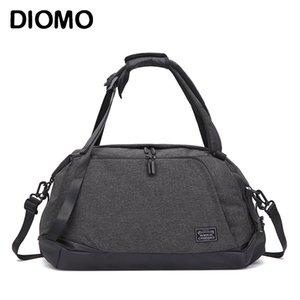 Diomo Fitness Sac multi-fonctions pour homme Sac Voyage portable de grande capacité sport toile bagages
