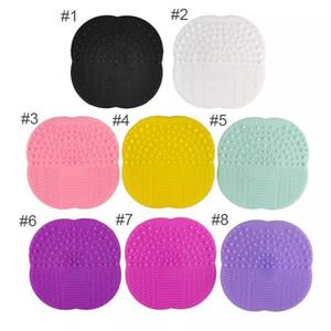 Make-up Pinsel Reinigung Matte Waschen Werkzeuge Handwerkzeug Pad Sucker Scrubber Bord Waschen Kosmetik Pinsel Reiniger Werkzeug Großhandel