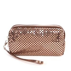 2018 mulheres Maquiagem Comestic saco do tipo lantejoulas luxo cosméticos compõem Bags Organizer Handbag Glitter Bling Sequins Mulheres embreagem