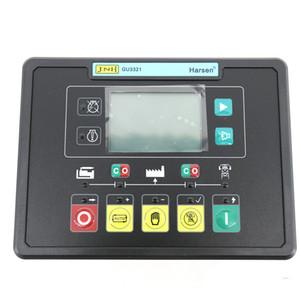 Harsen Auto Start Controller Generator Controller für Netzausfall GU3321-00 mit True RMS-Spannungs- und Strommessung