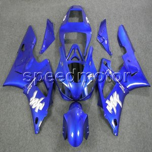 Custom + Tornillos azul YZFR1 98-99 YZF-R1 1998 1999 Artículo de carenado de motocicletas ABS para Yamaha