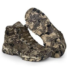 Winter Army Boots Bottes de combat tactiques en plein air pour hommes Bottes de survêtement en laine