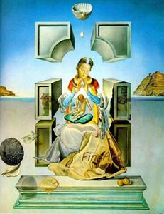 Salvador dali peint à la main peinture sur toile reproduction artiste célèbre toile huile beaux arts abstraits peintures à l'huile