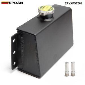 EPMAN Evrensel Alüminyum Soğutucu Genleşme Deposu Doldurma Taşma Rezervuar Yağ Yakalama Can Yakıt Parafı Tankı EPYXFST004
