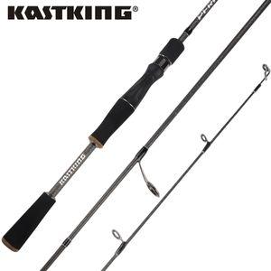 KastKing Perigee 1.98M / 2.13M 2 Tip Spinning Baitcasting Caña de pescar MF MH Acciones 7-14g Señuelo Peso Casting Señuelo Caña de pescar