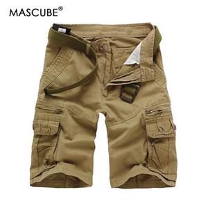 MASCUBE Nueva marca de los hombres de camuflaje pantalones sueltos de carga de los hombres de gran tamaño pantalones multibolsillo guardapolvos