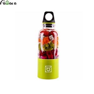 Eco-Friendly 500ml Usb Portable Juicer Coupe électrique rechargeable automatique Bingo légumes Jus de fruits Maker Cup Bottle Mixer Blender