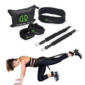 Power Guidance Booty Band Widerstand versieht Übungs-Gurt für Glutes Muskel-Trainings-Hip-Trainer Fitness Übung Freie Tasche