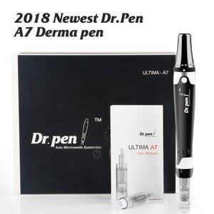 Dr. Pen Derma Pen A7 Auto Microneedle نظام قابل للتعديل أطوال إبرة 0.5MM-2.5MM الكهربائية ديرما Dr.Pen Stamp السيارات مايكرو إبرة