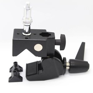 "Lager ثقيلة متعددة الوظائف Super Clamp Studio Clip مع Standard Stud و 7.5 ""Extension arm Kit for Photo Photography Camera"