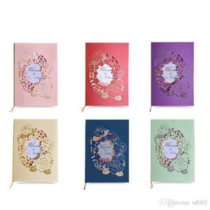 Желтый свадебные приглашения карты много цветов цветок лазерная резка шаблон DIY бумаги приглашение поздравительные открытки для свадебные украшения 0 98cfa ZZ