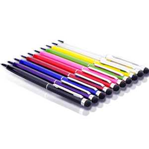 Dokunmatik Ekran Stylus Kalem Muti-fuction Kapasitif ve Tükenmez Kalem 2-in-1 Iphone 7 için artı Sumsang Ipad HTC vb tüm Akıllı Cep TelefonuTablet