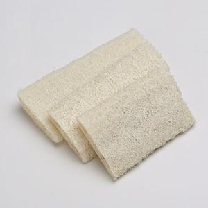 Lufa natural del plato Cepillo de limpieza para lavar platos bola del lavado Aplanar lufa