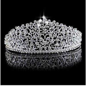 Bridal Krone, koreanische Wasser Bohrer Braut Kopf Ornamente, europäische und amerikanische heiße Verkauf Krone Hersteller Direktverkauf