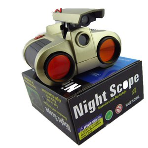 Fine double tube light night vision telescope