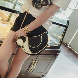 2018 Cute Cartoon Penguin Bags For Women Funny Lovely Animal Shoulder Bag Female Fashion Small Chain Cell Phone Bag Ladys' Party