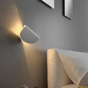 LED merdiven duvar lambaları modern oturma odası yatak odası başucu duvar aplik aydınlatma yaratıcı koridor giriş koridor alüminyum duvar lambası