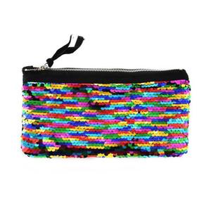 Mermaid Pencil Bag School Linterna Abrigo de regalo Kids Party Supplies Papelería Oficina Mujeres Niñas Bolsas de almacenamiento Exquisite 8js ff