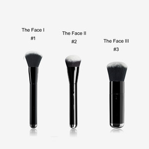MJ THE FACE I II III Liquid Sculpting Buffing Foundation Brush No.1 2 3 - Box Package Quality BB Cream Foundation Beauty Makeup Brushes