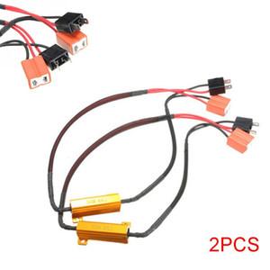 2 pcs 50 W 6RJ H7 Farol Resistor de Carga LED Canbus Lâmpadas de Nevoeiro do Carro Decoder Erro de Advertência de Resistência