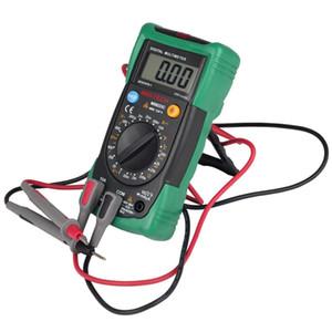 MASTECH Tester Digital Multimeter Range Dados Detenção DMM AC / DC Amperímetro Voltímetro NCV Diodo Teste de Continuidade de Verificação