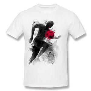 Hot Sale Mens Percent Cotton the striker T-Shirts Mens Round Neck White Shorts T-Shirt S-6XL Casual T-Shirts