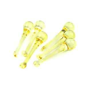 Jaune clair 20 * 80mm 10 PCS Cristal Goutte De Pluie Lustre Partie Polie Pour La Décoration D'intérieur Cadeau D'anniversaire Vendre Comme Des Gâteaux Chauds