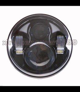 """5,7 """"bulbo alto de Daymaker DRL do farol do diodo emissor de luz do feixe baixo para Harley Dyna Sportster"""