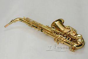 YANAGISAWA WO10 A-991 Alto Eb Tune Sassofono Marca Ottone di qualità Corpo strumenti musicali Lacca dorata Superficie Sax con custodia Bocchino