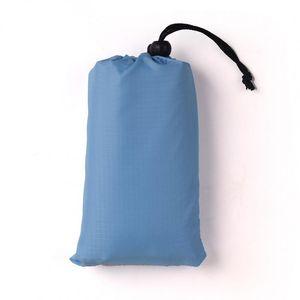 140x152cm waterproof camping mat nylon portable pocket Ultra-light Beach Mat Sand Tourist Barbecue Picnic Mat QW7390