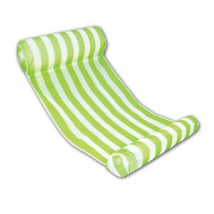 Летняя вода гамак Nflatable плавающей кровати воды шезлонг Буле розовый зеленый надувной бассейн свет износостойкий 35qy ДД