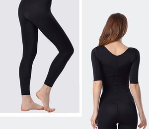 Prayger Abrir a extremidade longa Full Body Shaper Seamless Bras Elevador barriga de Controle cintura Corsets cintura Controle Shapewear Coxa Bodysuits Boa