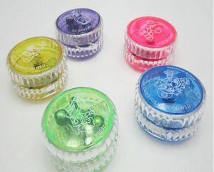 Juggling YoYo palla luminosa led lampeggiante Yo-Yo giocattolo bambino frizione meccanismo yoyo professionnel per bambini intrattenimento festa