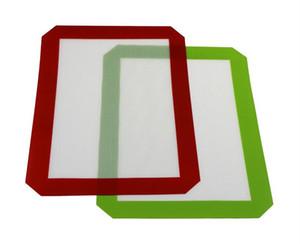 Non-Stick Silicone Dab Mats Para Cera 30 CM x 21 CM (11.81 x 8.27 polegada) Tapete De Cozimento De Silicone Dab Oil Bake Erva Seca