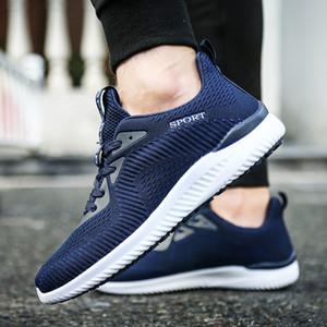 Steel Toe Sécurité au travail Chaussures Hommes 2020 Mode d'été Respirant Slip On Chaussures Casual Hommes du travail Assurance Crevaison Chaussures de course