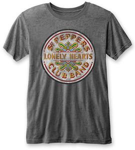 The 'Sgt Pepper Drum' Burnout T-Shirt - NEW & OFFICIAL!