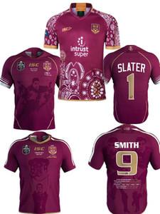 2018 NRL Liga Nacional de Rugby Queensland 2018 QLD Camiseta Maroons Malou Rugby Camiseta 2019 QLD MARRONES ESTADO DE ORIGEN Rugby