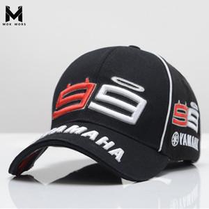 2019 Новые MOTO GP Хорхе Лоренсо Mens Вышивание 99 YAMAHA Cap мотогонок Мужчины бейсболке Gorra Спорт Snapback Шляпы