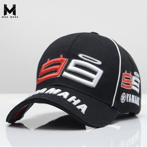 2019 i più nuovi MOTO GP Jorge Lorenzo Mens ricamo 99 YAMAHA Cap Motociclismo uomini Berretto da baseball Gorra Sport Snapback Hats