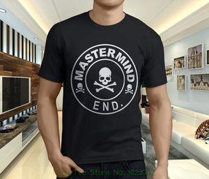 Nwt Mastermind Japan X End Clothing Skull Men&#039 ; S Black T-shirt Size S - 3xl