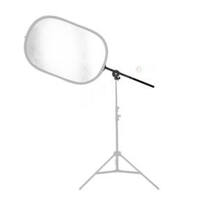"""Foto Reflektor Befestigungswinkel Reflektor Clip Reflektor Arm Rotierenden Boom Unterstützung 24 """"-66"""" Photo Studio Equipment versandkostenfrei"""