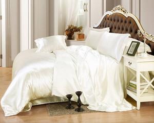 도매 여름 새 럭셔리 침대 세트 우아한 블랙 담요 Duvet 커버 세트 이불 커버 침대 시트 많은 트윈 퀸 킹 사이즈