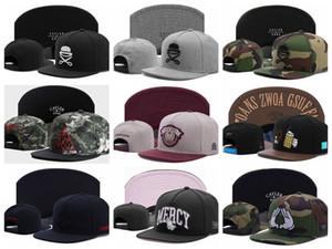 Neueste arrivel Cayler Söhne Camo Baseball Caps Gorras Knochen Hip-Hop-Kappe Flachkrempe Hut Hysteresenhut Hüte für Männer und Frauen