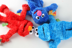 Sesame Anzai red Aimo hand puppet toy plush hand puppet