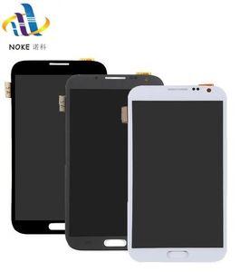 Preto / branco / cinza para samsung galaxy note 2 n7100 n7105 t889 i317 i605 l900 lcd screen display toque digitador assembléia peças