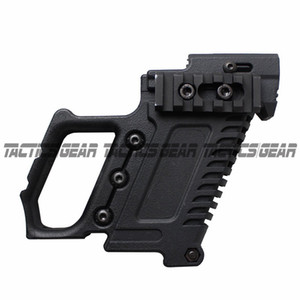 Caricatore in nylon per caricatore Tactical Pistol Stock Adapter Glo ck Edition per G17 G18 G19 Grip