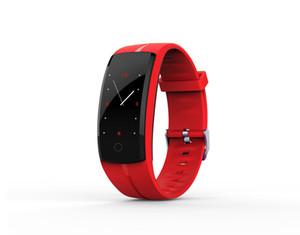 Reloj de pulsera inteligente QS100 SmartBand impermeable Heart Rate Monitor de Actividad rastreador de ejercicios pulsera para Android IOS VS Carga Fitbit