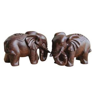 1 coppia 6cm legno elefante animale in miniatura fata giardino casa case decorazione mestiere micro paesaggistica decor wb921