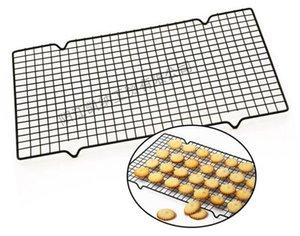 Bandejas para hornear Bandejas nuevas Antiadherente para pasteles de metal Rack de refrigeración Galletas de red Galletas Pan Muffins Soporte de secado Soporte para refrigerador Herramientas para hornear de la cocina