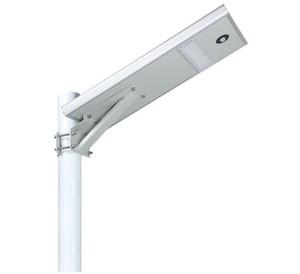 البير استشعار الحركة 25W التكامل أدى ضوء الشارع الشمسية للماء LED ضوء الطريق ضوء استشعار لوحة للطاقة الشمسية أحادية في الهواء الطلق مصباح